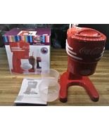 Nostalgia Electrics Coca Cola Electric Ice Shaver/Shaved Ice/NEW IN OPEN... - $37.99