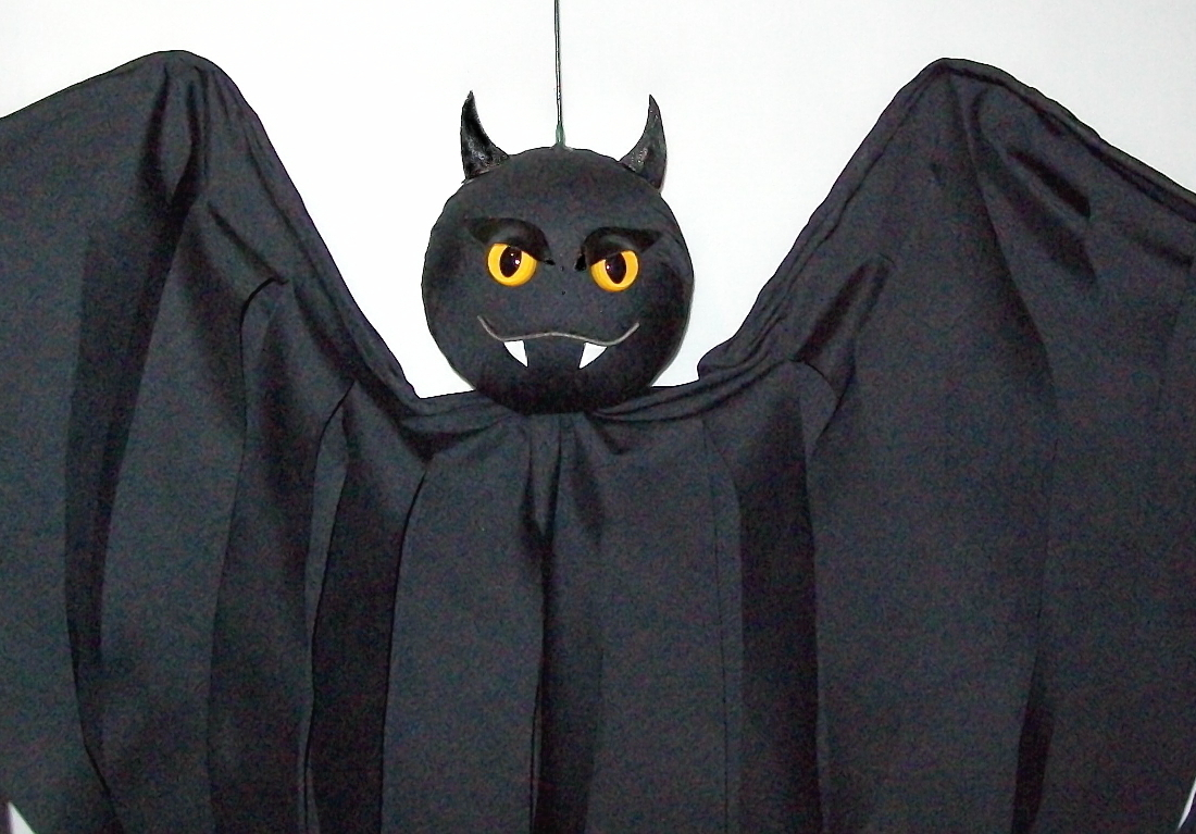 Hanging Bat Halloween Decoration Flyer