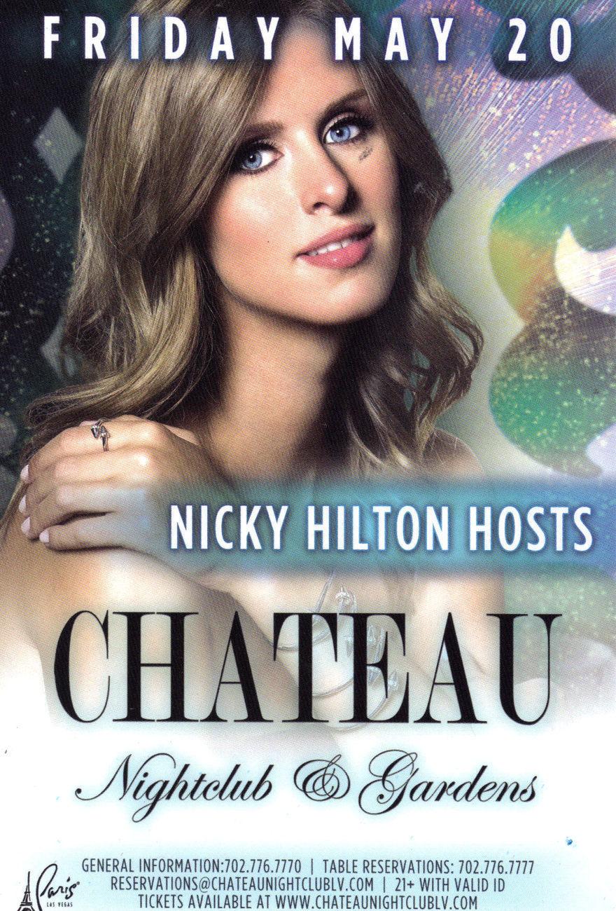 Chateau nicky hilton