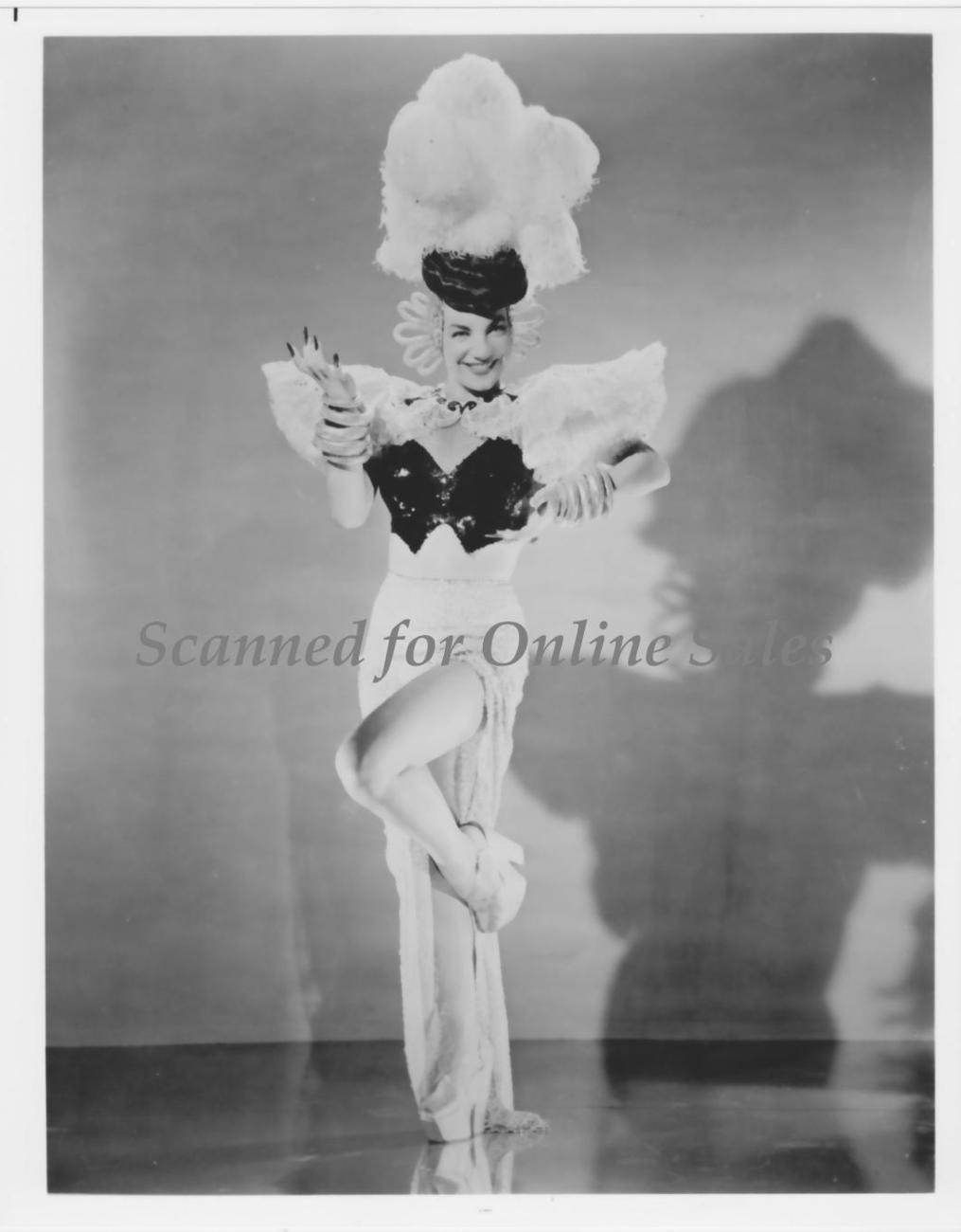 Carmen Miranda Sassy Vintage Latin Dancer  8x10 Photo