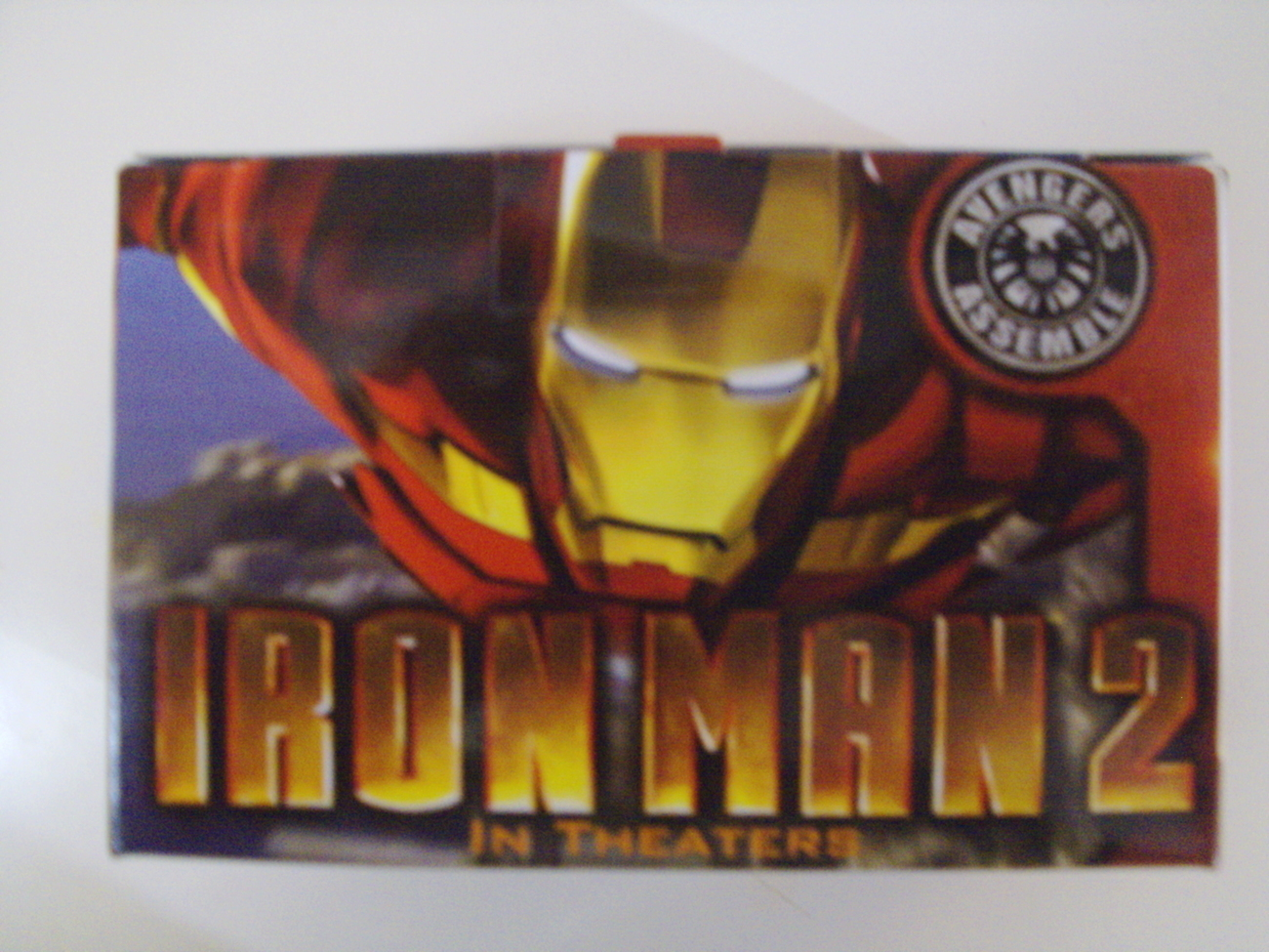 Marvel Iron Man 2 Construct N' Play action figure Burger King 2010 - New