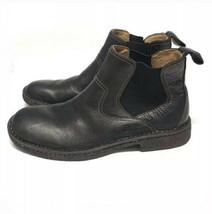 Born Black Boots Size 9 Leather Men's - £55.33 GBP