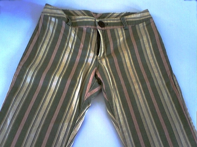 60s Mod Striped Pants Bonanza