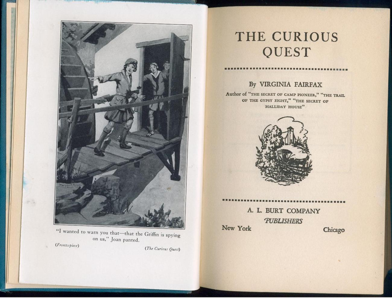 Fairfax - CURIOUS QUEST - 1934, 1st - Girl Scouts -  SCARCE