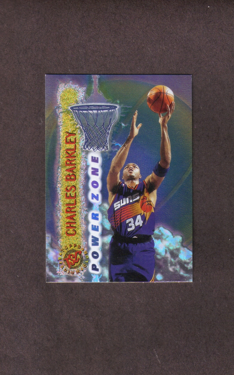 1995-96 Stadium Club Power Zone # PZ2 Charles Barkley