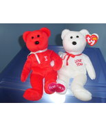 I Love (Heart) You TY Beanie Babies MWMT 2005 - $10.99
