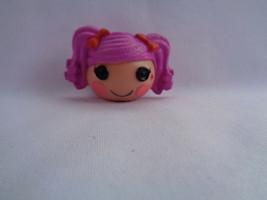 Lalaloopsy Mini Pink Hair Peanut Big Top Doll Head Pencil Topper - $1.14