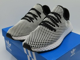Adidas Deerupt Runner Black White Men Running Shoes Sneakers CQ2626 - $64.99