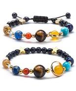 Fesciory Women Solar System Bracelet Universe Galaxy The Eight Planets G... - $28.99+