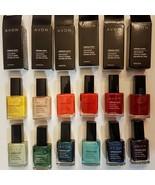 Avon NailWear Pro + Nail Enamel CHOICE of Retired Shades Polish Red Coba... - $14.99