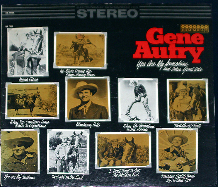 Gene autry you are my sunshine and other hits cover