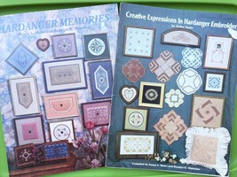 Hardanger Memories Embroidery Pattern Book Lot - Doily Bell pull Pillow ... - $29.70