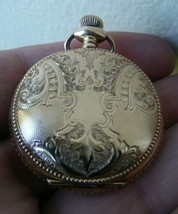 Antique Waltham Pocket Watch Model Size 0 Hunter Case - MINTY CASE! - €60,68 EUR