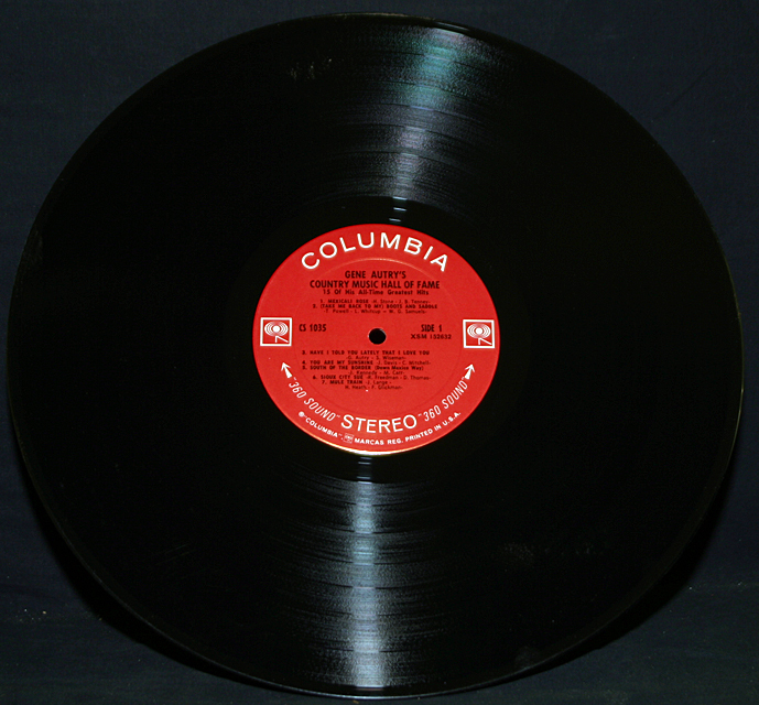 """Gene Autry """"Country Music Hall Of Fame Album""""    LP"""