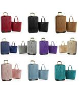 $382 JOY Metallic Set E*Lite Travel Medium Hardside Luggage and Leather ... - $79.19+