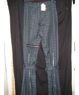 Vintage 90s NOS Lip Service bondage punk plaid pants 28 - $68.00