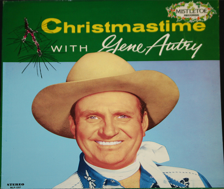 Gene autry christmastime cover