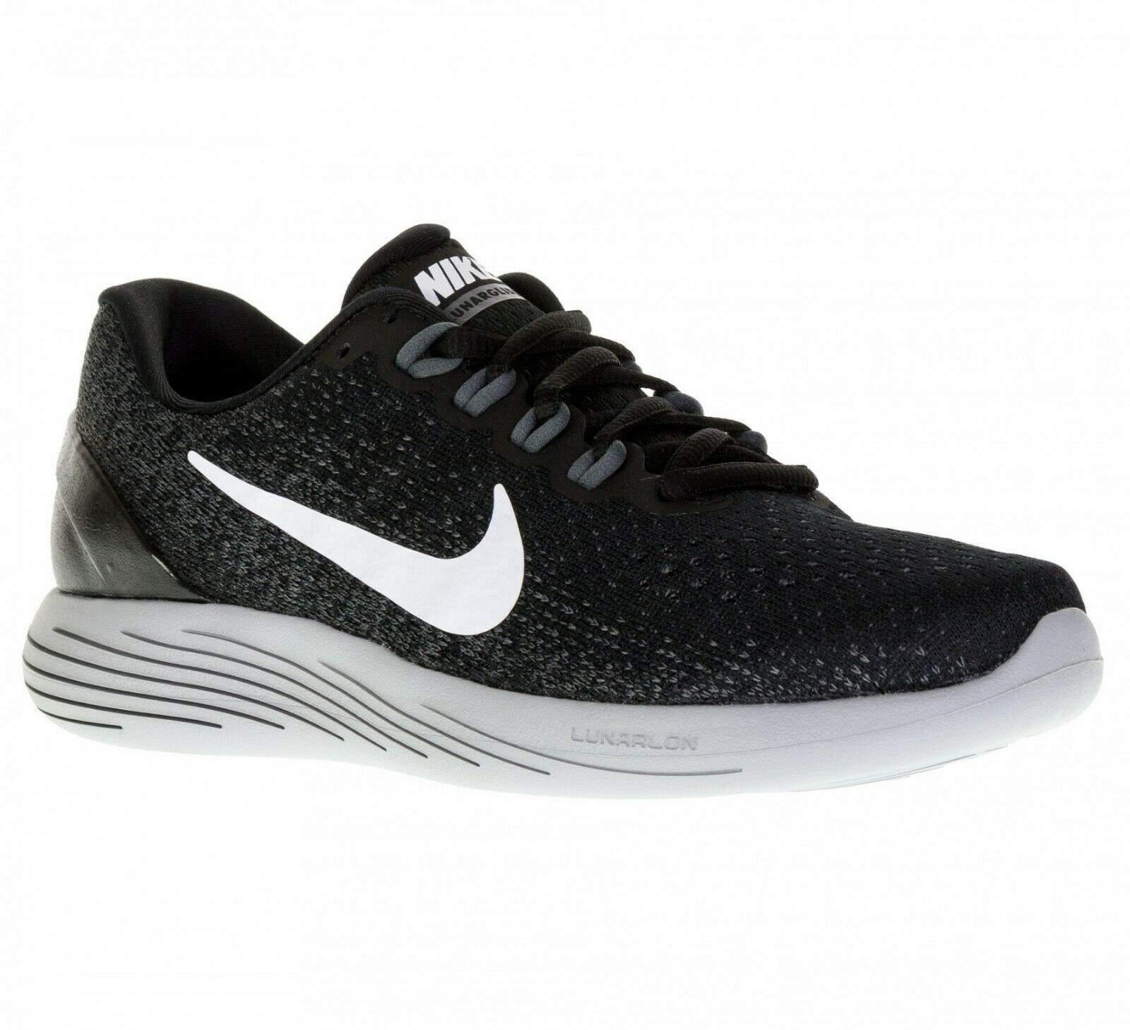 Primary image for Nike LunarGlide 9 Black Dark Grey Women's Running Shoes Size 10.5 [904716-001]