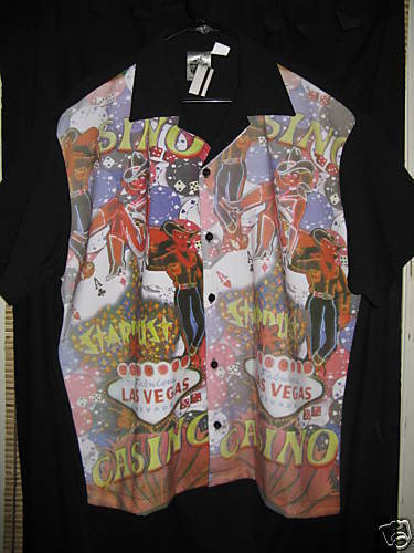 Primary image for Mosquitohead Las Vegas dice bowling VLV shirt dice XL