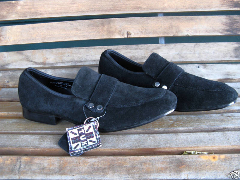 Primary image for TUK T.U.K. mod Elvis swinger suede shoes 10 UK9 42 VLV