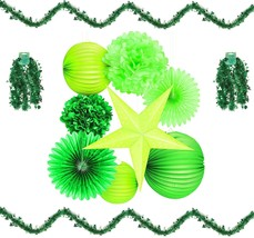 St. Patricks Day Party Decorations Supply Bundle of 10 Items - 8 Tissue ... - £20.93 GBP