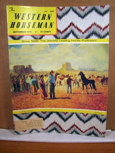 Western Horseman Magazine, September 1974