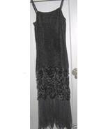 Aris.A velvet goth gothic boho evening dress gown S - $186.07