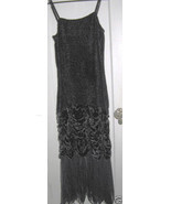 Aris.A velvet goth gothic boho evening dress gown M - $189.00