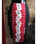 Alice in Wonderland pencil wiggle pin-up skirt VLV s - $72.73