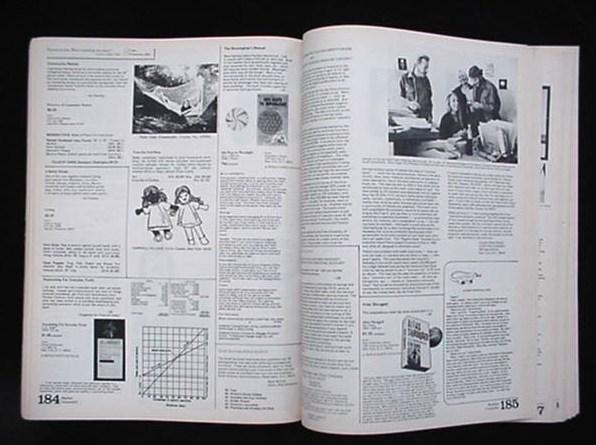 The Whole Earth Catalog Access To Tools 1971 Portola