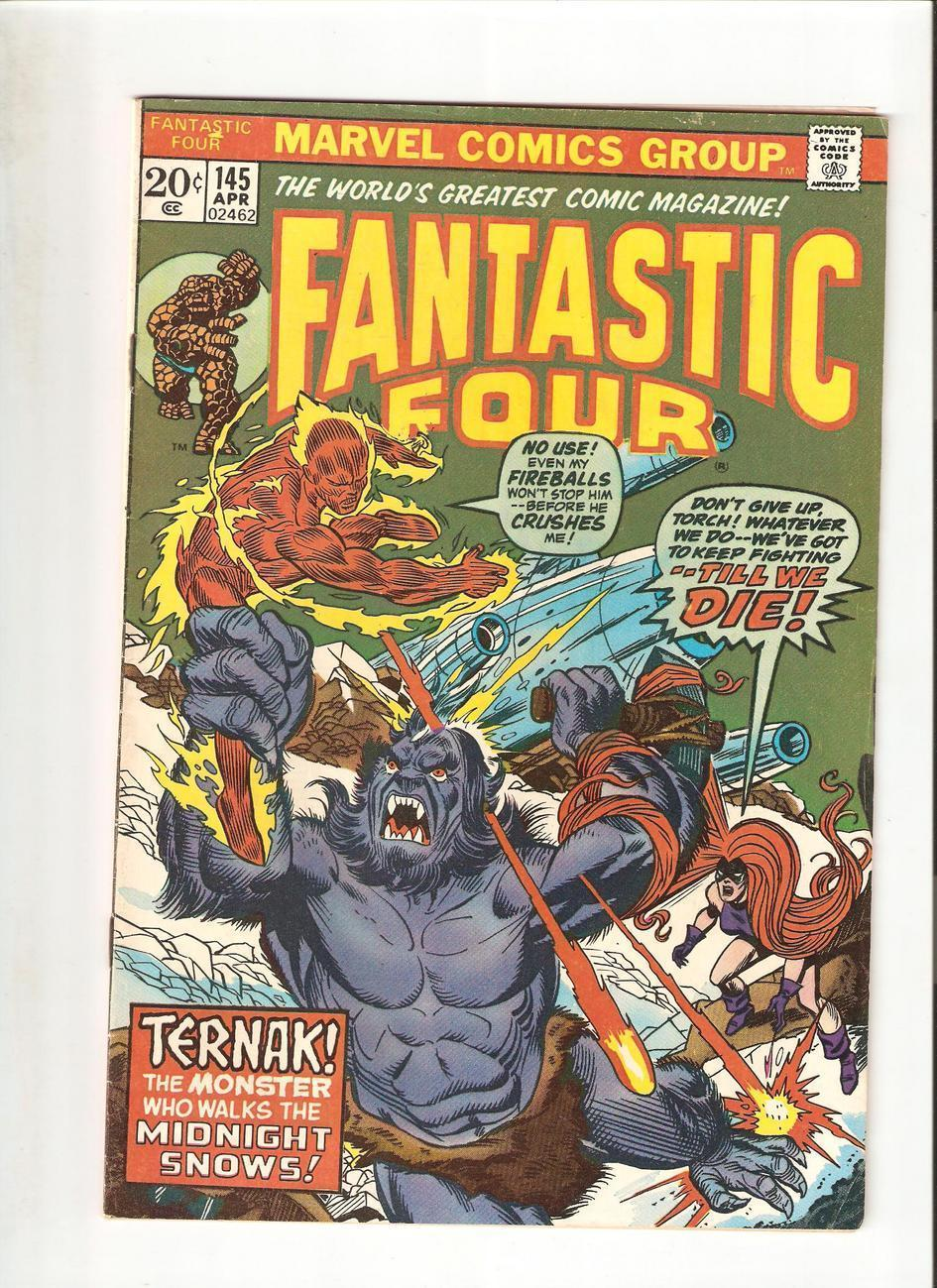 Marvel Comics - Fantastic Four # 145 (Apr.1974)