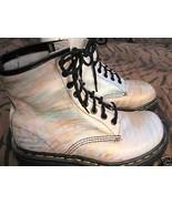 OOAK DOCs Dr Martens graffiti boots 6 UK4 36 England! - $233.39