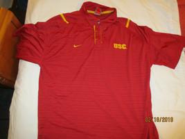 USC Trojans Nike Golf Polo Shirt  Men's Size M Medium  Dri-Fit SS - $18.99