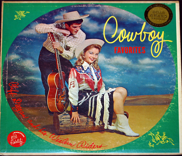 Cliff deegan  cowboy favorites cover