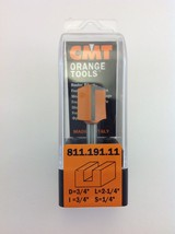 "CMT 811.191.11 Straight Router Bit, 1/4"" Shank,  3/4"" Diameter,  Made in Italy - $14.94"