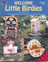 Plaid Painting Book Welcome Little Birdies~Cindy Mann - $7.00