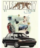 1991 Mercury TRACER sales brochure catalog US 91 LTS - $6.00