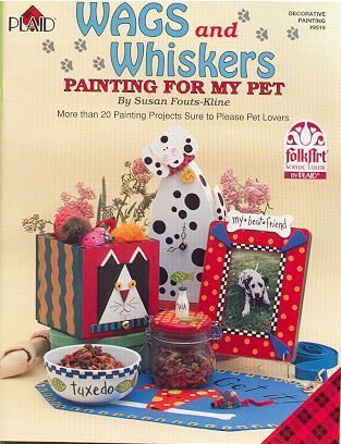 Wags & Whiskers ~Learn to Paint Dog Feeders
