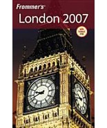 Paperback Book Frommer's London 2007 With Fold Out Map - $5.00