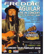 Freddie Aguilar Live InConcert South Point Las Vegas Promo Card - $2.95
