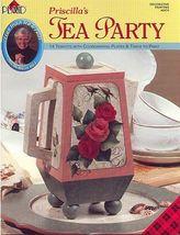 Priscilla's Tea Party Learn to PaintTeapots  - $7.00