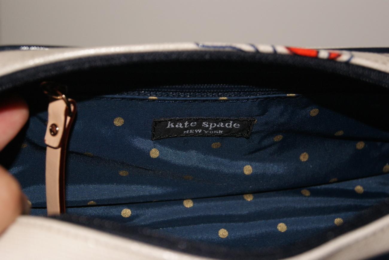 Kate Spade Pass the Shades Small Henrietta Cosmetic Case Multicolor