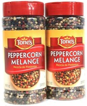 2 Tone's 7.5 Oz Potent Blend Of Black White Green & Pink Peppercorn BB 1... - $23.99