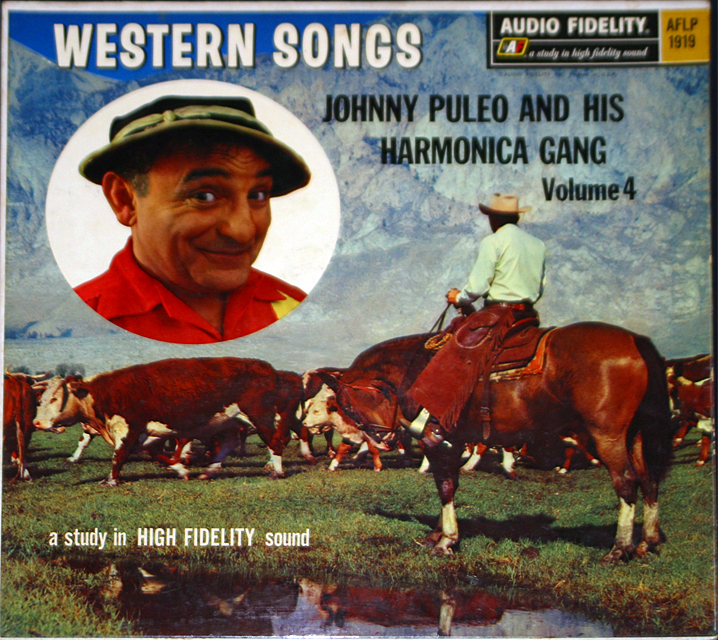 Johnny puleo  western songs cover