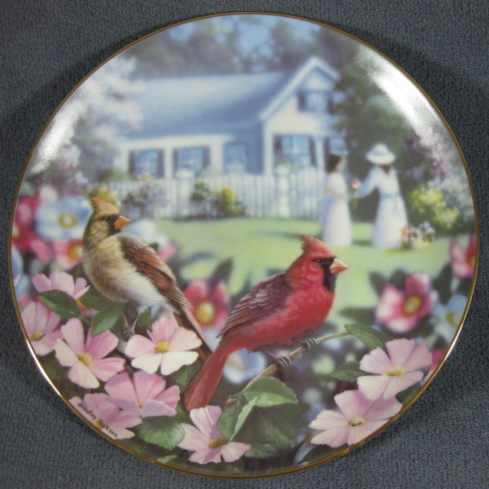 Primary image for Garden Gathering Family Album 1993 Danbury Mint Collector Plate Bradley Jackson