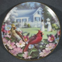 Garden Gathering Family Album 1993 Danbury Mint Collector Plate Bradley ... - $24.95