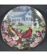 Garden Gathering Family Album 1993 Danbury Mint Collector Plate Bradley ... - $24.95