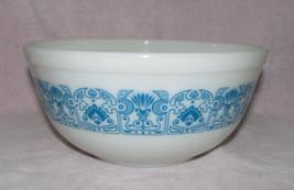 Vintage Pyrex 2.5 Qt Nesting Mixing Bowl Blue Horizon - $13.99