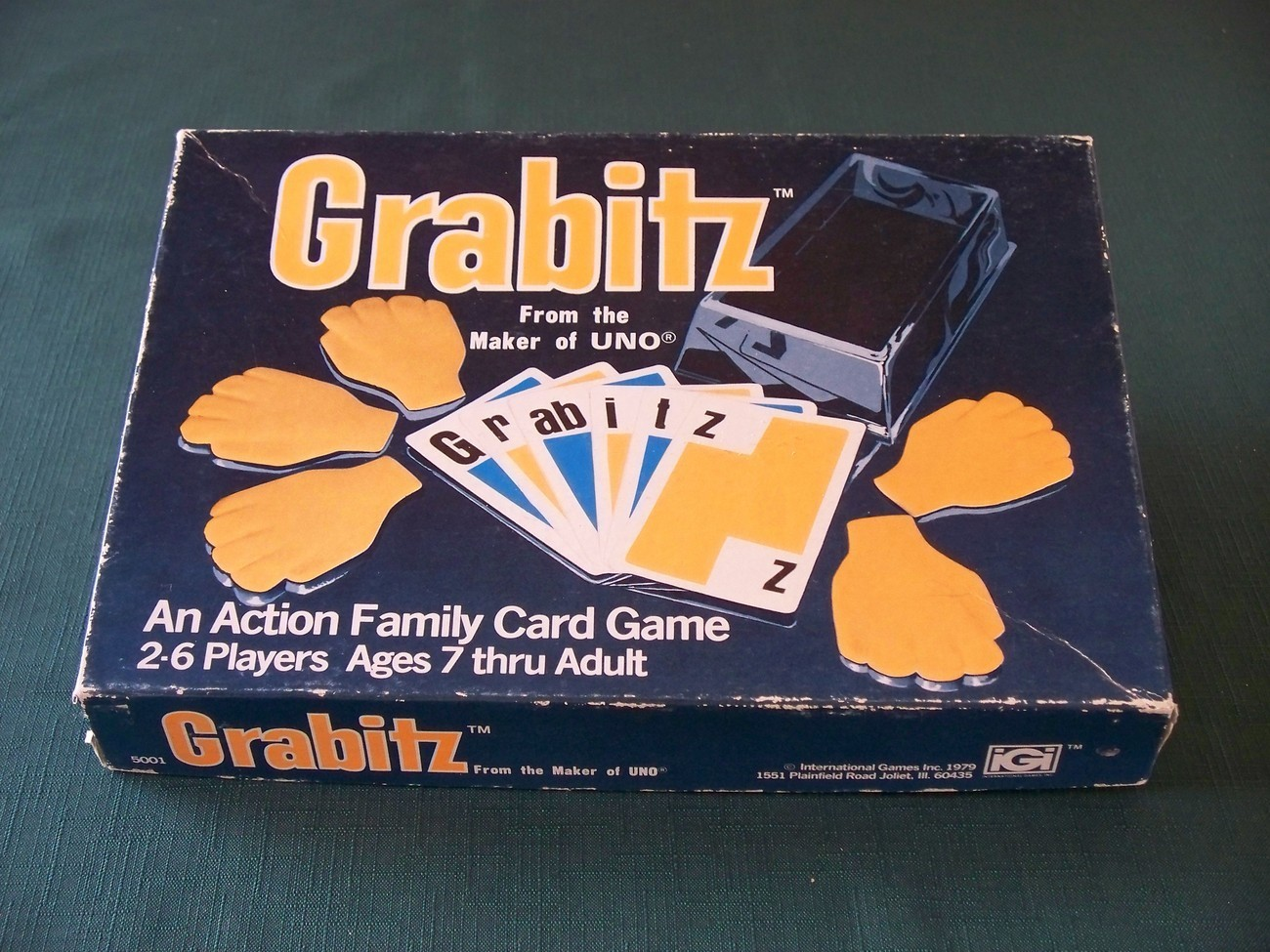 Primary image for Grabitz by International Games 1979 Complete