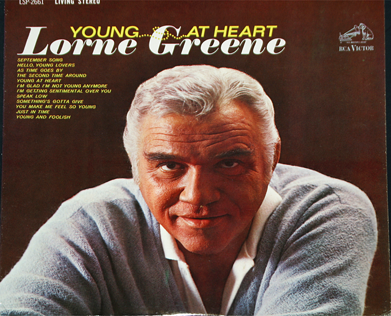 Lorne greene young at heart cover